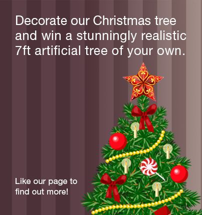 [GIVEAWAY] WIN a luxury artificial Christmas tree by decorating a Christmas tree of your own on our website🎄  Validate your entry by making your post public & by using our hashtag #Hayestreecomp2017  🌟 Remember to share with your family and friends
