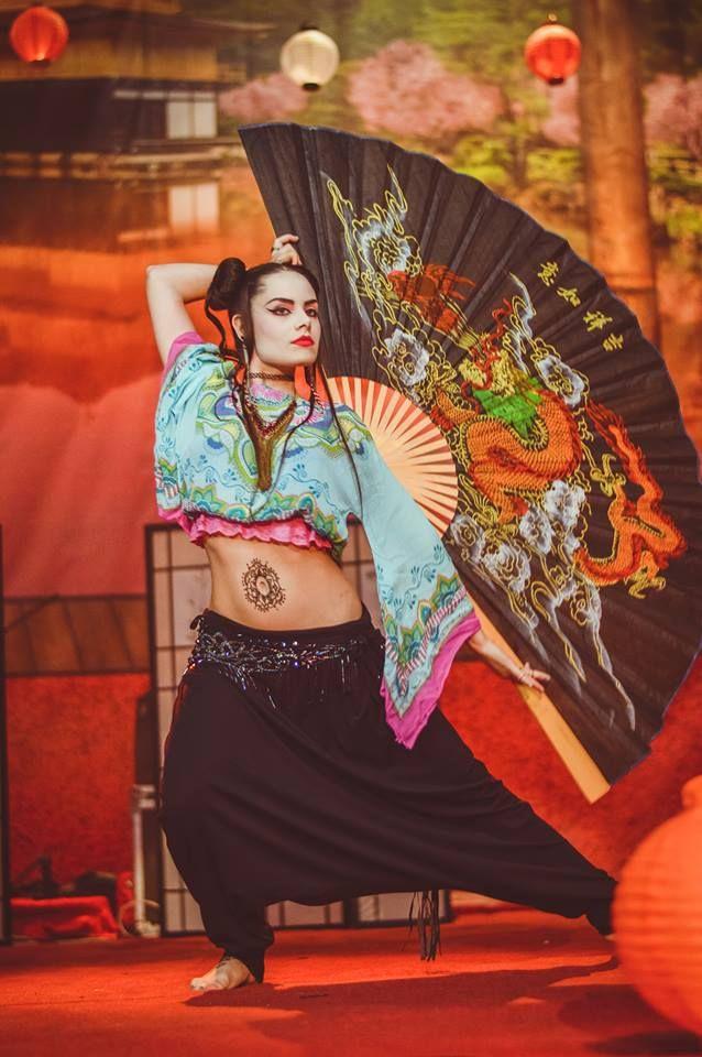 ZenMamma tribal fusion bellydance Mad geisha