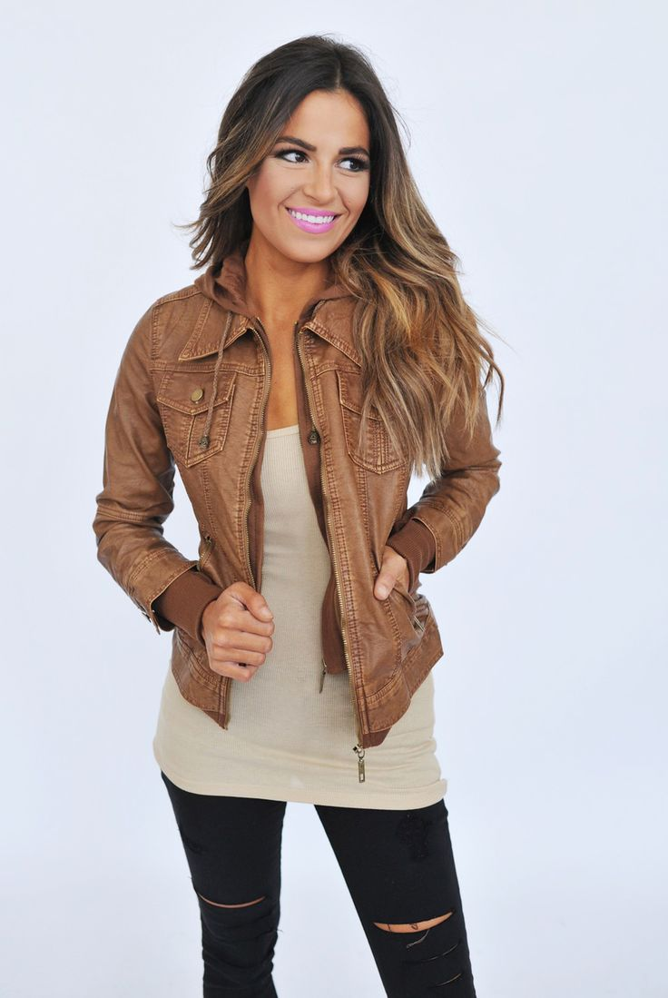 Best 25  Camel leather jackets ideas on Pinterest | Womens brown ...