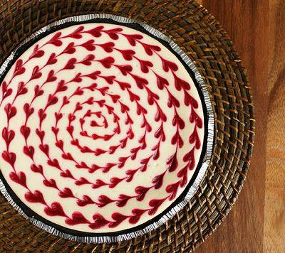 White Choclate Raspberry Cheesecake