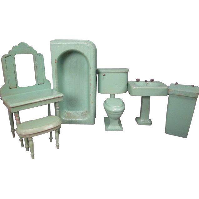 Strombecker Started Making Wooden Doll House Furniture In 1931 And This Is  The First Design Of