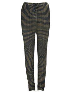 Cindie Printed Trousers by Vadum