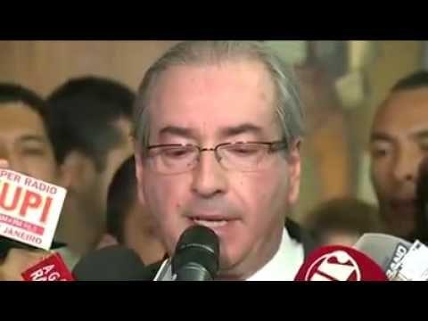 Eduardo Cunha renuncia a presidência da câmara 07/07/16