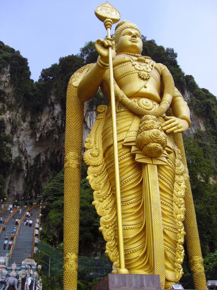 Murugan Statue near Kuala Lumpur