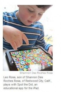 Good Apps for Autism in the News (New York Times) - Pinned by @PediaStaff – Please visit http://ht.ly/63sNt for all (hundreds of) our pediatric therapy pins