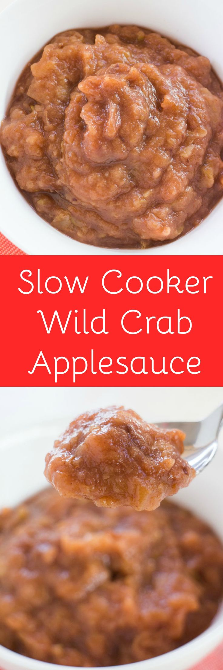 This is a easy applesauce recipe to make in your slow cooker with your wild crab apples! You don't need to peel the apples! Even better there's no sugar in this as we use maple syrup instead!