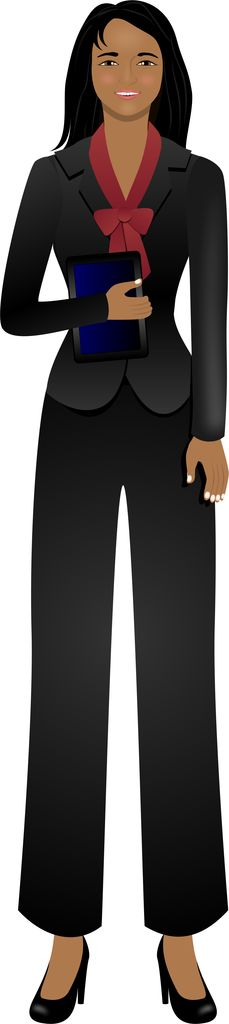 Valerie - African American avatar for eLearning with Adobe Captivate, Techsmith Camtasia, and Articulate Storyline.