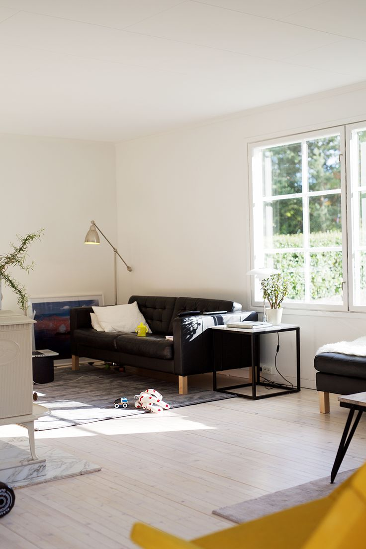 Ingrid Holm Living Room Leather Sofa