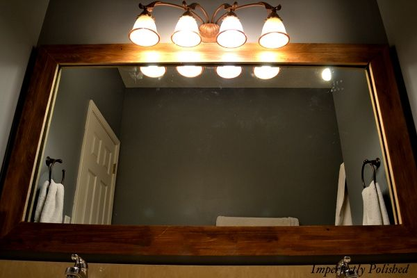 1000 images about barn wood on pinterest for Large flat bathroom mirrors