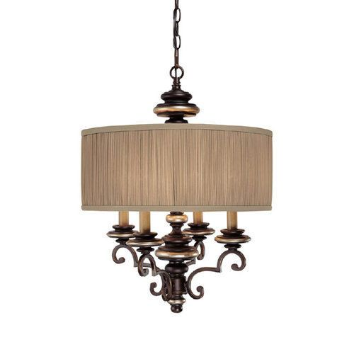 Capital Lighting 3884-445 Park Place 4 Light 1 Tier Drum Chandelier #Traditional
