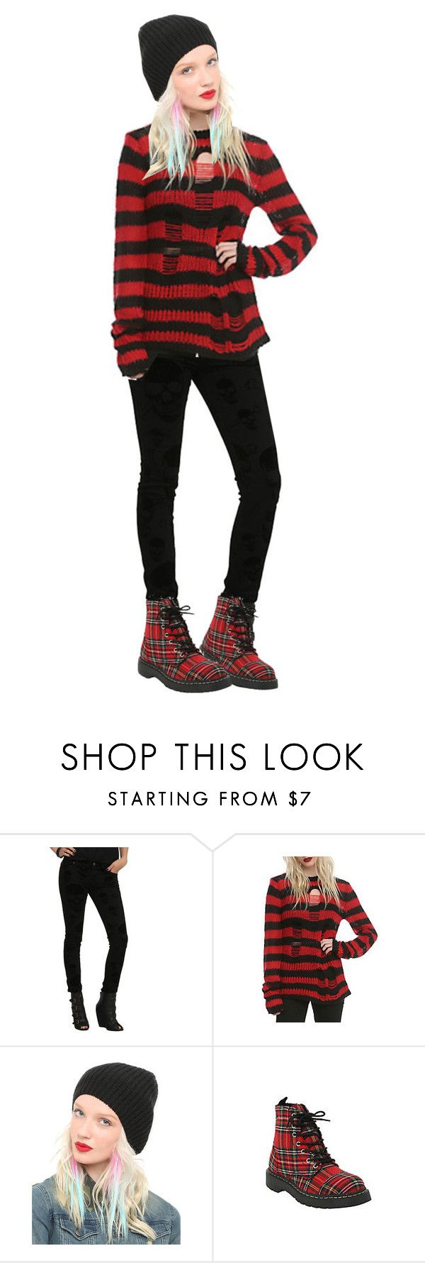 """""""Hot Topic- Hot Outfit"""" by hottopic ❤ liked on Polyvore featuring Tripp and Dickies"""