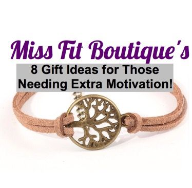 We could all use a little extra motivation, once-in-awhile. Motivational Jewelry make the perfect gift for on-the-go! Here's a list of Miss Fit Boutique's Top 8 Motivational Gift …