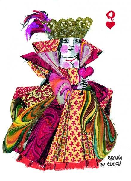 Regina di Cuori - Emanuele Luzzati