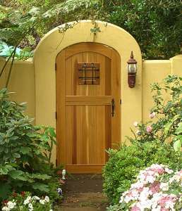 197 best images about mexican courtyards gardens on for Garage door repair santa monica
