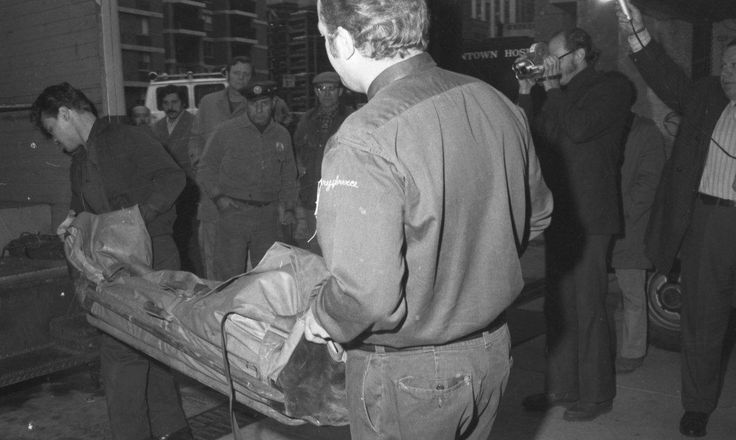 Crazy Joe is killed at a Little Italy restaurant in 1972