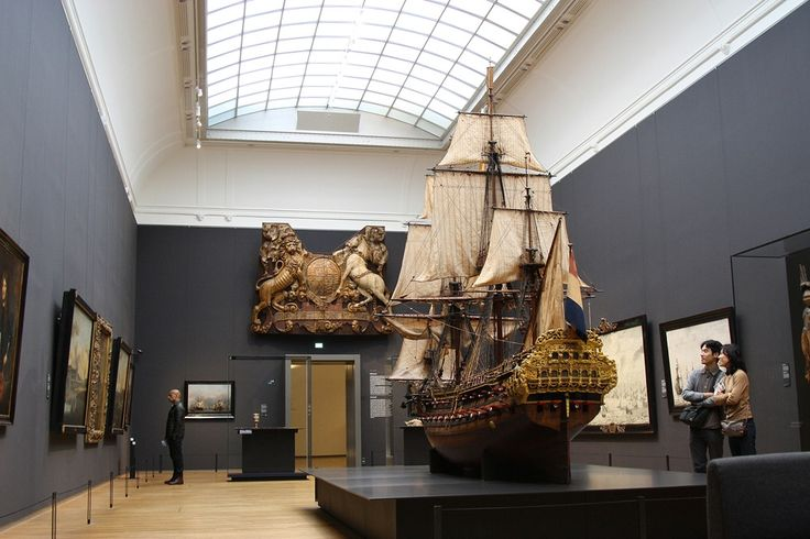 Power at Sea - large model of the 72 gun Dutch warship William Rex (1698) at the Rijksmuseum, Amsterdam.