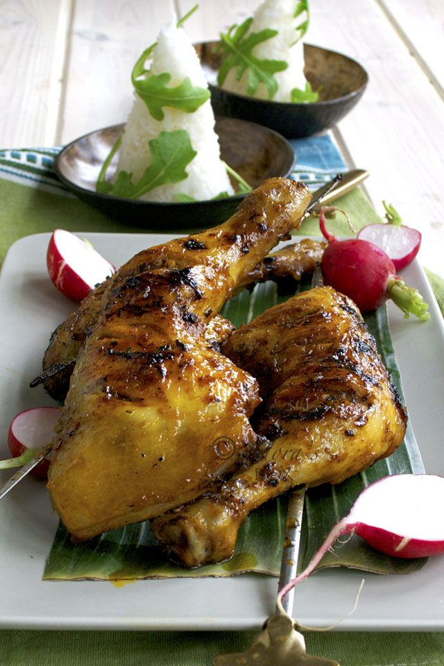 Chicken inasal is an indigenous barbecue chicken recipe that comes from Bacolod, the sugar capital of the Philippines. It is ver...