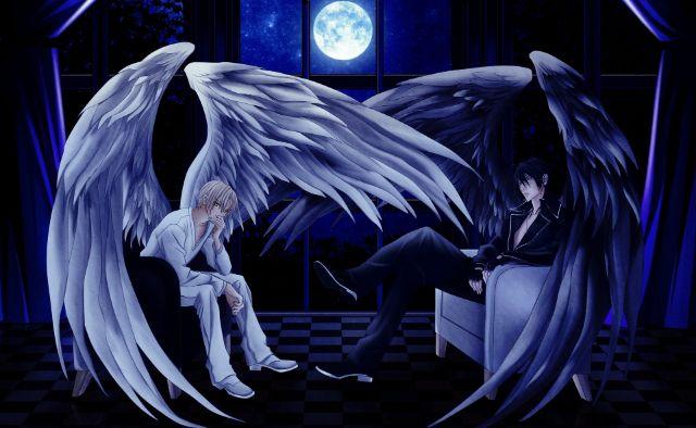 Anioł i Upadły Anioł