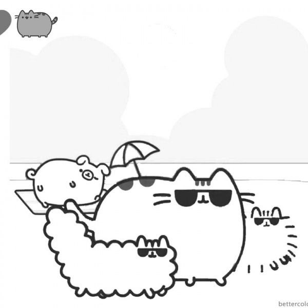 Pusheen Coloring Pages Cute Dinosaur Hat Free Printable Coloring Pages Pusheen Coloring Pages Cute Coloring Pages Coloring Pages
