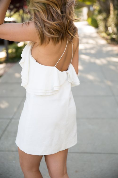 I love this Little White Dress, it's great for any occassion.