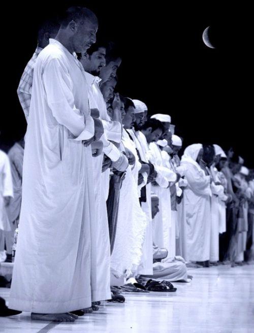 Praying moment