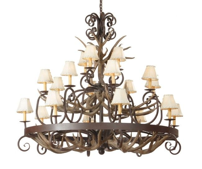 rustic chandeliers rustic elk antler and iron chandeliers reclaimed furniture design
