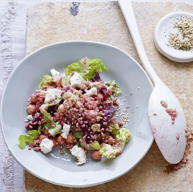 Bulgur-Salat mit Roter Bete und Kichererbsen Rezept - [ESSEN UND TRINKEN]