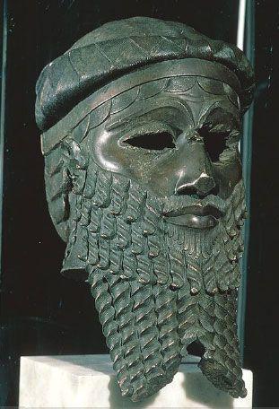 2-12 Head of an Akkadian ruler - Nineveh, Iraq - c. 2200 BCE - Ancient Middle East