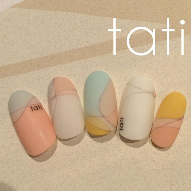 tati 竹原千晴 VETRO Art director @tati_nail すりガラスプッチ...Instagram photo | Websta (Webstagram)