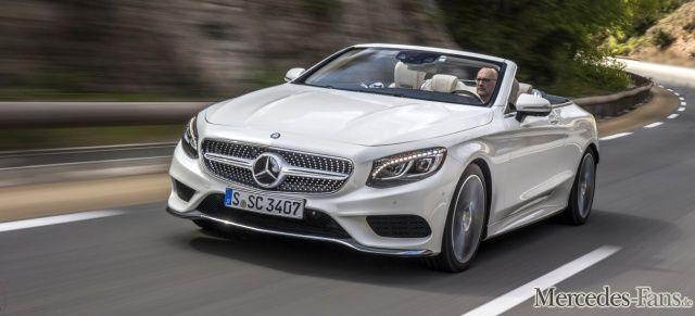 Erlkönig-Premiere:: Erste Bilder der Modellpflege vom Mercedes Benz S-Klasse Cabrio (A217) - News - Mercedes-Fans - Das Magazin für Mercedes-Benz-Enthusiasten