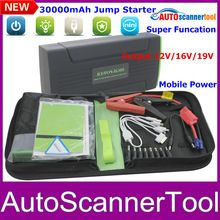 Hot Sale 2014New Arrival 30000mAh Car Battery Charger Portable Jump Starter Emergency Power Supply External Rechargeable Battery(China (Mainland))