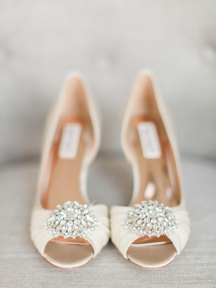 Cream And Rose Gold Wedding Heels For The Perfect Spring Bride