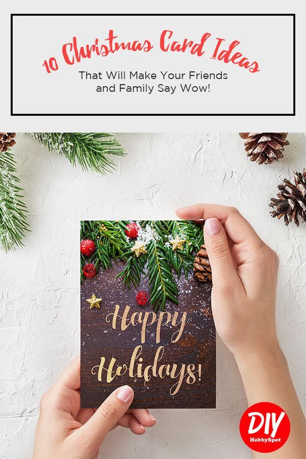 10 Christmas Card Ideas That Will Make Your Friends and Family Say