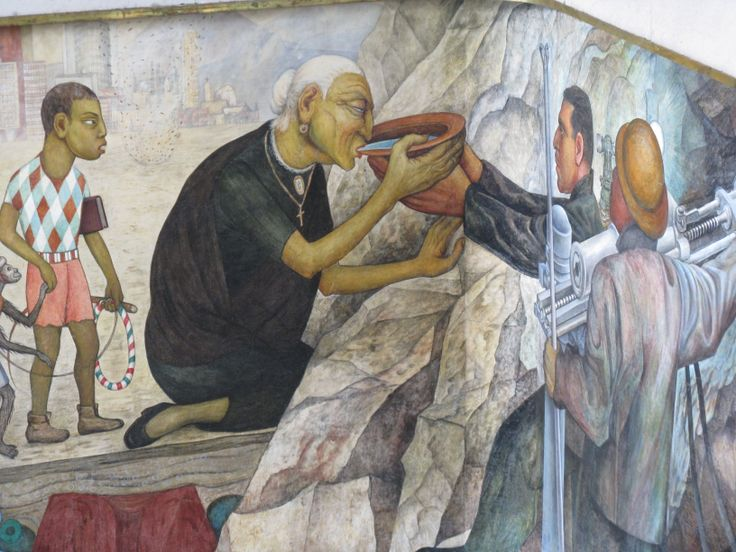 69 best images about diego rivera on pinterest mexico for Mural de rivera