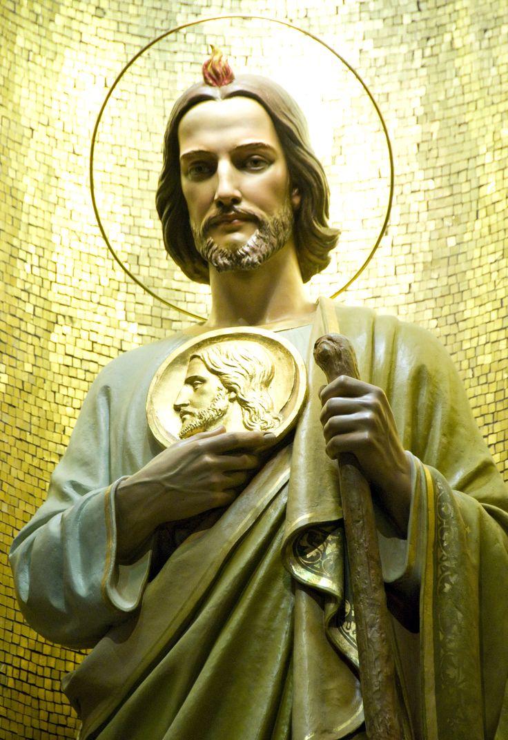 SAN JUDAS TADEO, primo hermano de NSJC y difusor de la devoción a la santa Faz. st-jude-9.jpg (2603×3792)