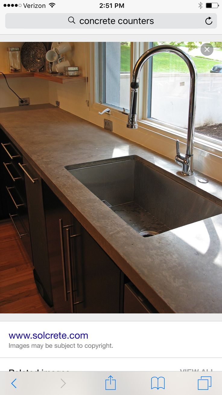 center countertop island watch start forms hd to finish concrete