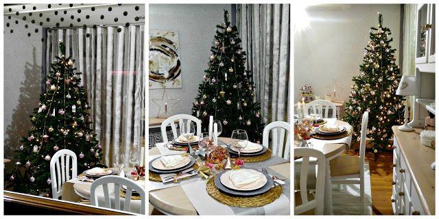 #Escaparate #navidad #2015 #comedor #alacena #árbol #mesa #showcase #christmas #diningroom #tree