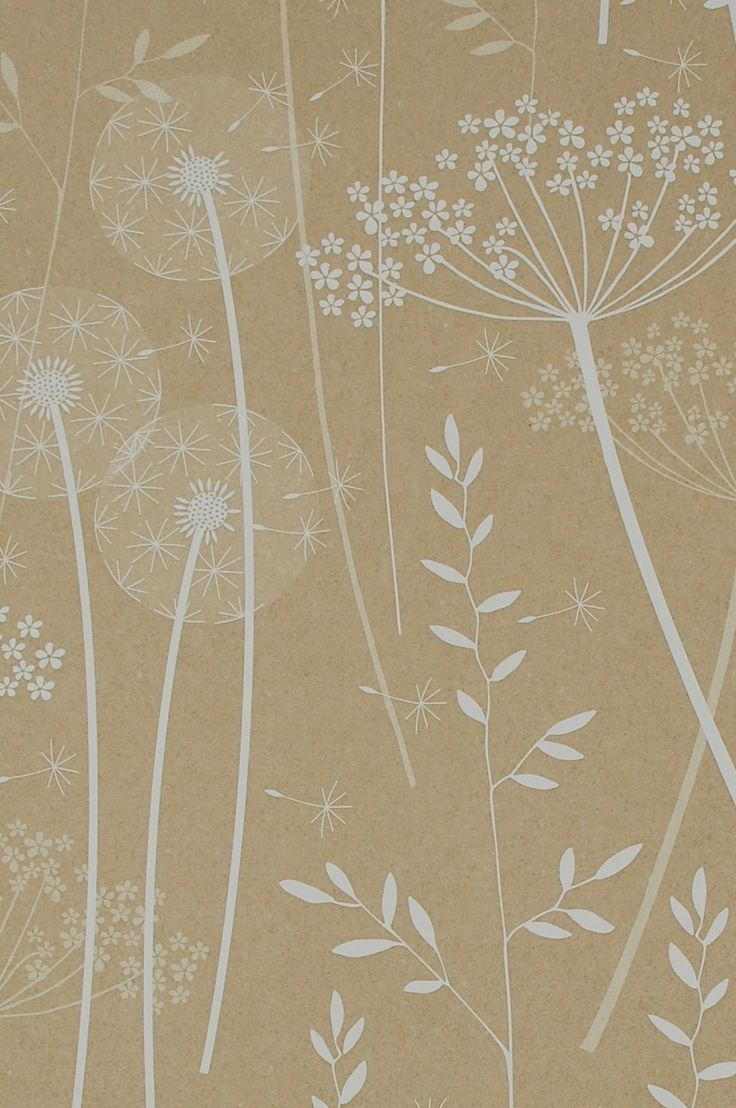 Rasch apples vinyl kitchen wallpaper 824506 cream cut price - Hannah Nunn Wallpaper Meadow In Kraft