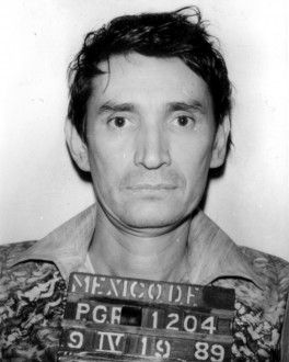 "Miguel Ángel Félix Gallardo (born January 8, 1946), commonly referred to by his alias El Padrino (""The Godfather""), is a convicted Mexican drug lord who formed the Guadalajara Cartel in the 1980s, and controlled almost all of the drug trafficking in Mexico and the corridors along the Mexico–United States border."