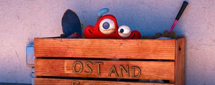 Primera imagen de Lou el nuevo corto de DisneyPixar que precederá a 'Cars 3'  Noticias de interés sobre cine y series. Estrenos trailers curiosidades adelantos Toda la información en la página web.