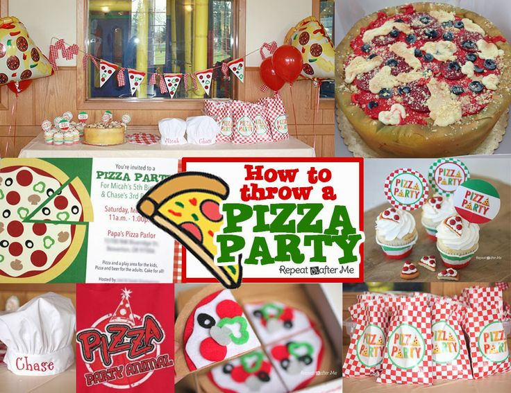 Pizza Party - Repeat Crafter Me