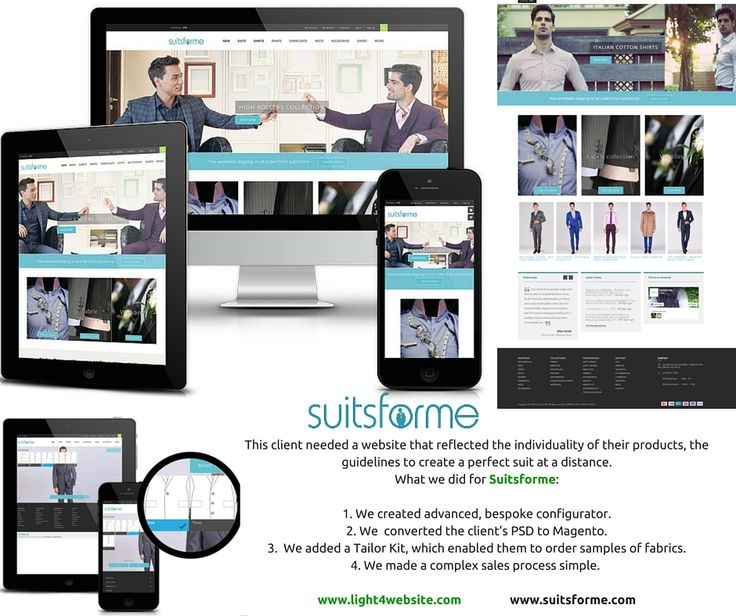 Suitsforme is a top-end online menswear store offering bespoke suits that can be customized to suit every individual as well as a stunning range of shirts, trousers, overcoats and accessories, located in UK. Do you like their website?