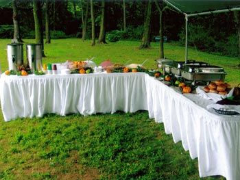 Backyard Food Buffet Setup Now That 39 S A Party