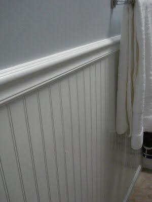 powder room l porcelanosa tile l floating vanity l above ...