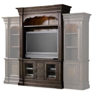 Two Pieces Entertainment Units And Hooker Furniture On