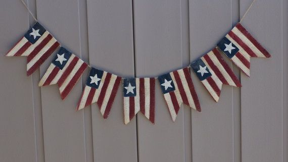 Stars and Stripes American Flag Banner.