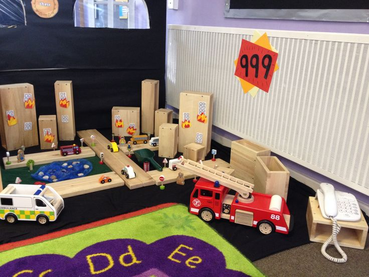 Small world: Emergency services in the city