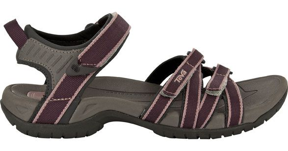 Teva Women Tirra Hiking Sandals in Decadent Chocolate | See more about Hiking Sandals, Sandals and Product Display.