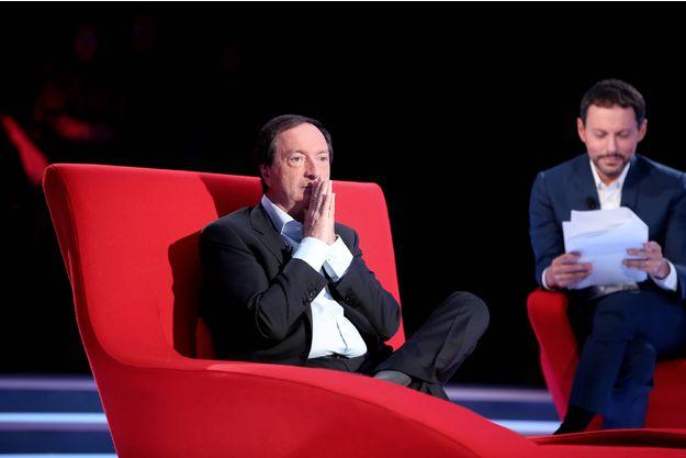 Michel-Edouard Leclerc sur le divan de Marc-Olivier Fogiel.