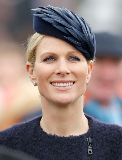 Zara Phillips Tindall, March 15, 2016 in Rosie Olivia | Royal Hats